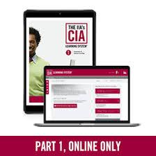 Frais de formation CIA Partie 1