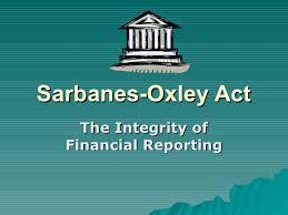 Formation 6 IMPACT DES LOIS SARBANES – OXLEY SUR L'ORGANISATION